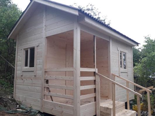 дачный домик 3x4