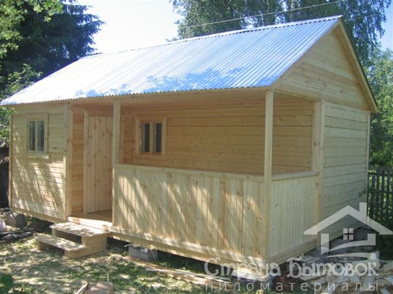 Дачный домик своими руками 5х5 87