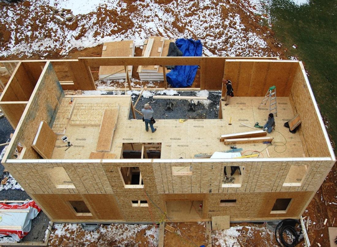Как построить дом своими руками канадская технологии
